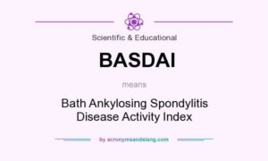 BASDAI means - Bath Ankylosing Spondylitis Disease Activity Index